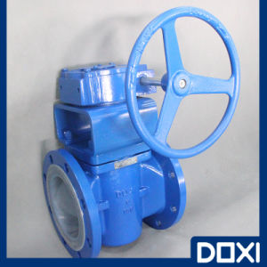 Handwheel Operate PFA Lined Plug Valve pictures & photos