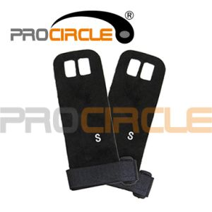 High Quality Leather Weight Lifting Gym Gloves (PC-CG1023) pictures & photos