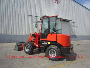CE Hydraulic Transmission Mini Wheel Loader Hzm Jn912 1.2ton Backhoe Wheel Loader Made in China pictures & photos