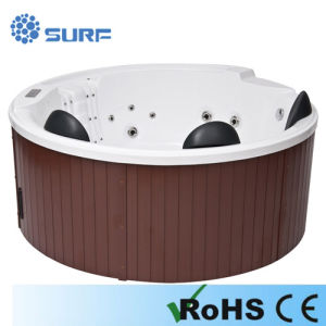 Economic Jacuzzi Function Round Whirlpool Hot Tubs Outdoor Spas - (SF8E075)