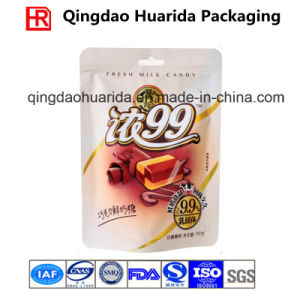 Laminated Plastic Candy Bag with Custom Logo Printing and Zipper pictures & photos