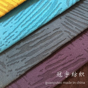 Burnt Discharge Short Pile Corduroy Fabric for Decoration pictures & photos
