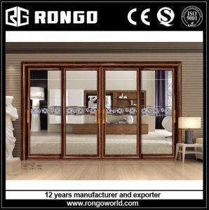 Elegant Mansion 4 Panels Aluminum Door
