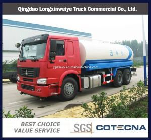 Hot Sales HOWO 6X4 18m3 Sprinkler Water Tank Truck pictures & photos