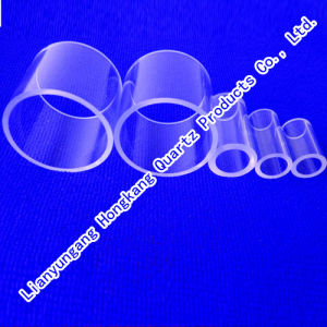 Fire Polishing Clear Fused Quartz Tube pictures & photos