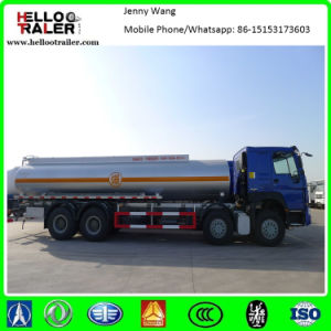 HOWO 8X4 35cbm Refuel Fuel Oil Tanker Truck pictures & photos