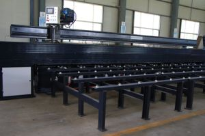 Steel Plat Butt Joint Welding Machine for Straight Seam pictures & photos