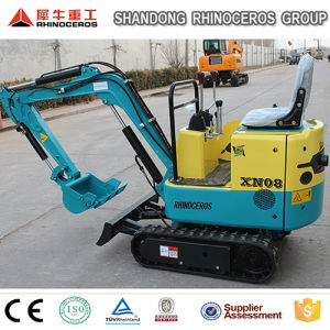 Rubber Track Crawler Excavator Mini Excavator 0.8t, 1.5t Cheap Farm Digging Machine for Sale in Europe pictures & photos