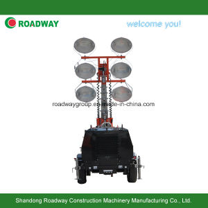 Hydraulic Lift Lighting Tower pictures & photos