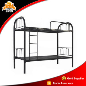 Bunk Bed Small Steel Pipe Bunk Bed 2 Layers pictures & photos