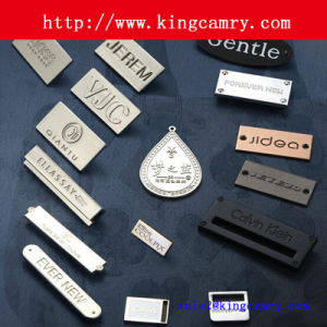 Clothing Label Clothing Badge Labels Bags Handbag Logo Label Metal Label Shoe Label Logo Label pictures & photos