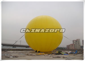 Giant Size Amazing Design Inflatable Roof Top Ball Ground Balloon