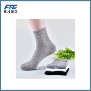 Good Quality Pure Color Sports Socks pictures & photos