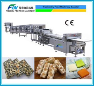 Automatic Candy Production Line for Sesame Candy, Chocolate Coating Product, Nougat, Milk Candy, Sugus, Square Shape Candy pictures & photos