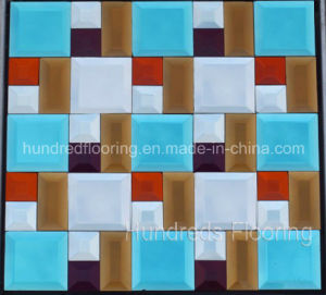 Mosaic Wall Tile Diamond Mirror Mosaic (HD051) pictures & photos