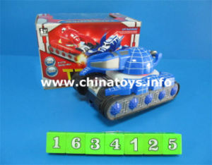 Battery Operated Tank Car Toy with Light and Music (1634125) pictures & photos