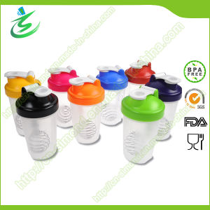 400ml BPA Free Protein Shaker Bottle with Mixing Ball pictures & photos