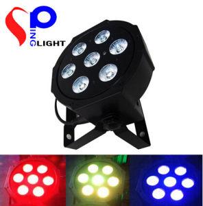 7PCS 10W RGBW 4 in 1 Disco Light LED PAR