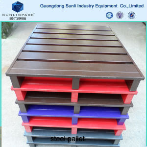 Export Standard Wholesale Price Euro Steel Pallet pictures & photos