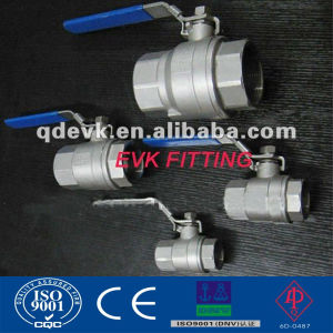 ANSI Stainless Steel 2PC Threaded Ball Valve with 1000wog