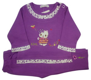 Kids Girl Children Suit Baby Clothes pictures & photos