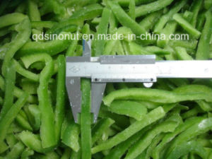New Crop Frozen IQF Sweet Green Pepper pictures & photos