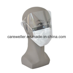 Disposable Face Mask with Eye Shield /Eye Splash Face Mask pictures & photos