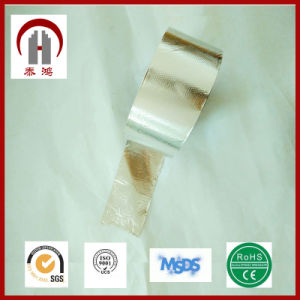 2016 China Manufacture Free Samples Sliver Acrylic Self Adhesive Aluminum Foil Tape pictures & photos