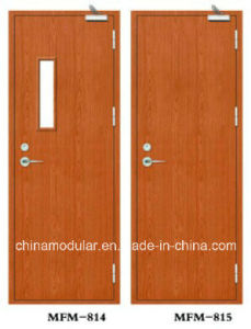 Timber Fire Door for Escape Passage and Conduits (CHAM-FRTD01) pictures & photos