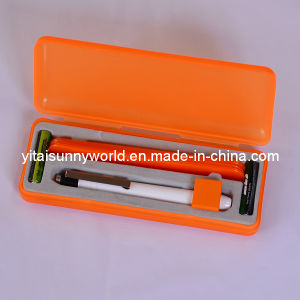 Medical Equipment Penlight with Tongue Pressore pictures & photos