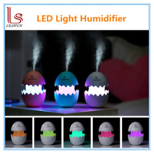 Mini Fun LED Night Light Egg Air Humidifier pictures & photos