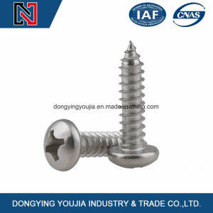 Top Quality China Factory Zinc Plated Cross Recessed Pan Head Self Tapping Screws Wholesale Hot Sale pictures & photos