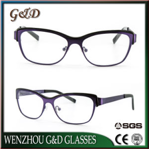 Latest Design Stainless Glasses Frame Eyewear Eyeglass Optical 37-244 pictures & photos