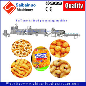 Puff Snacks Food Extruder Machine