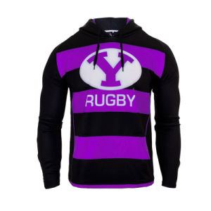 Custom Logo Printing Rugby Pullover Hoodie for Men pictures & photos