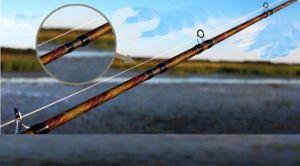 2.28m Ver Hard Xf Action Long Shot Fishing Rod Black Fish Rod High Carbon Gunreel Seat Rod pictures & photos