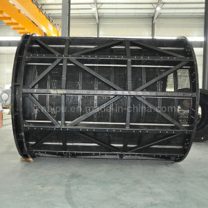 Rubber Polyurethane Mine Vibrating Trommel Cylinder Screen Sieve
