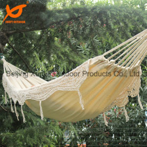New Style Tree Cotton Fringe Hanging Bed Hammock