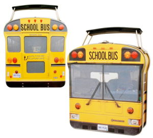 School Bus Shape Tin Lunch Box pictures & photos