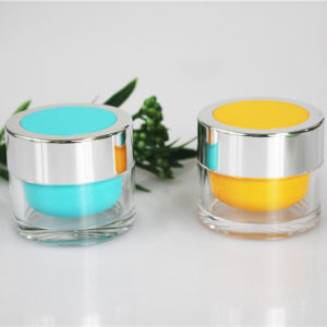 50g Clear Plastic Jar Luxury Jar Cosmetic Packaging pictures & photos