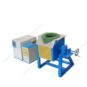 Copper Brass Melting Smelting Induction Furnace for Casting