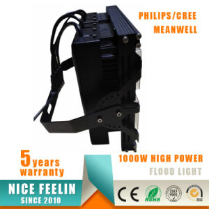 Meanwell Driver Small Size Light Weight 1000W CREE LED Floodlight pictures & photos