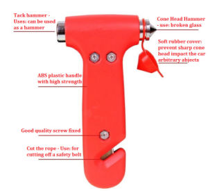 Emergency Safety Hammer for Auto Car/Bus pictures & photos
