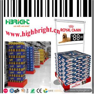 Supermarket Heavy Duty Plastic Pallet Display Rack pictures & photos