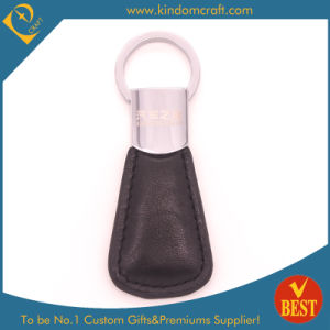 Wholesale Customized Logo High Quality Leather Key Chain with Die Casting pictures & photos
