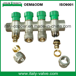 Italy Design Compression Brass Manifold for Heat Pipe (AV9062A) pictures & photos