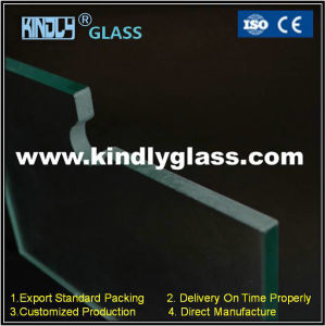 6-15mm Tempered Glass with Pivot and Lock Cutout pictures & photos