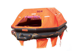 High Quality Trow Over Board Inflatable Life Rafts pictures & photos