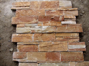 Hot Sell Cement Back Wall Stone (SSS-95) pictures & photos