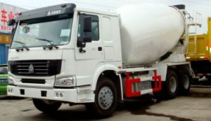 Sinotruk 6X4 HOWO 9m3 Concrete Mixer Truck Cement Mixer Truck pictures & photos